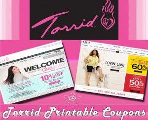 photo regarding Torrid Coupon Printable named Torrid Printable Discount codes Torrid Coupon Code Free of charge