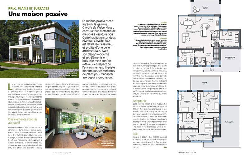 Plan De Maison Weberhaus # 1 plans Pinterest Prefab - prix d une construction de maison