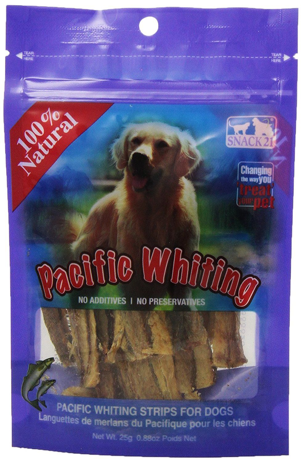 Snack 21 Pacific Whiting Snack for Dogs >> Insider's