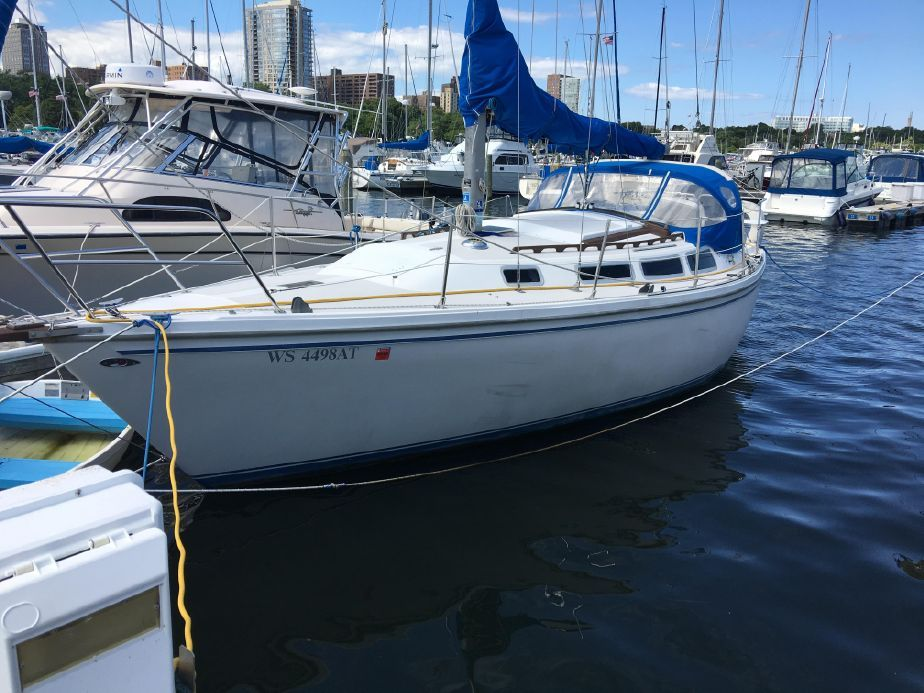 1981 Catalina 30 Tall Rig Sail Boat For Sale - www