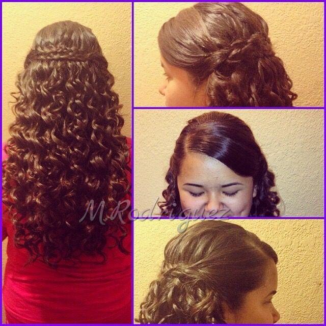military ball hairstyle hair&