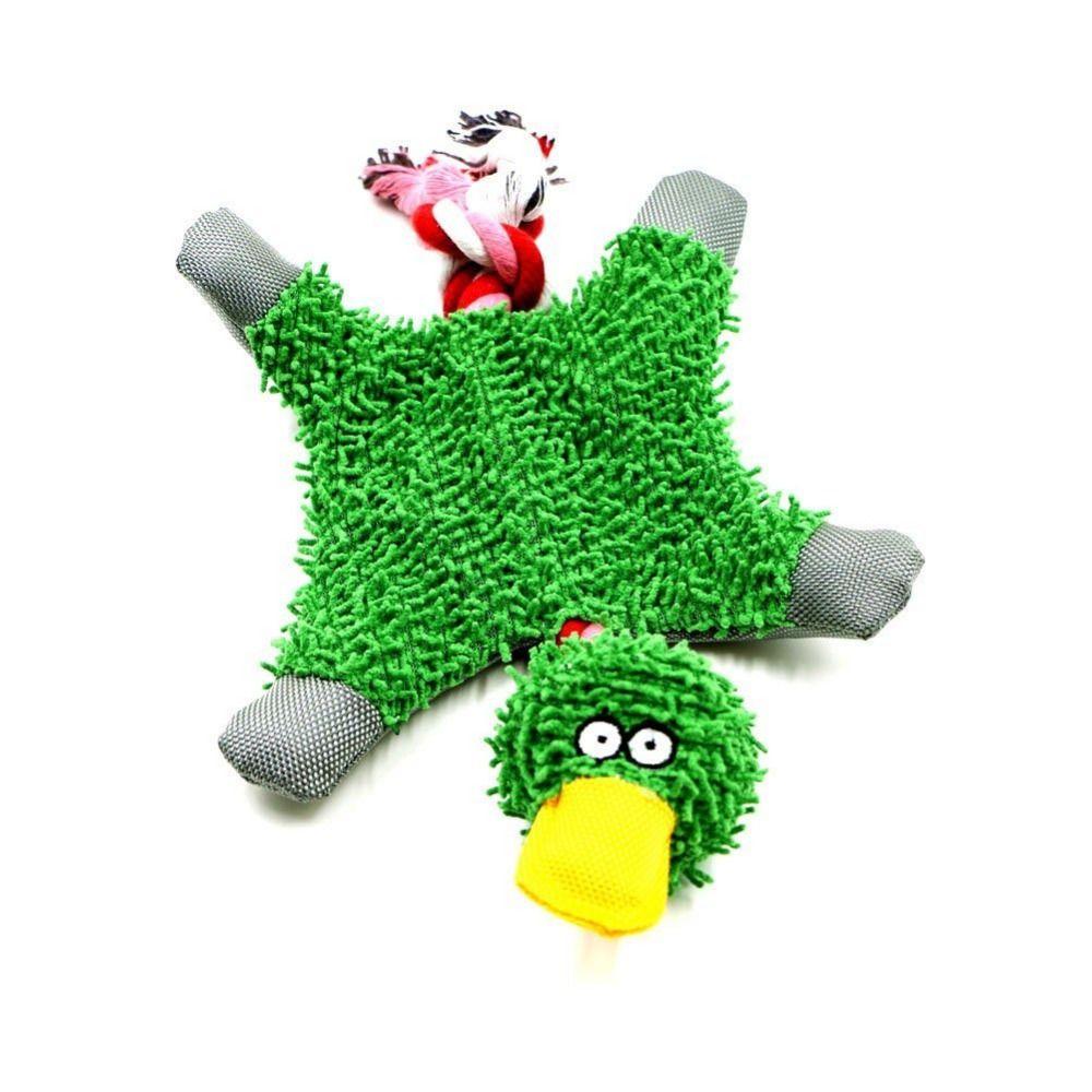 Funny Fluffy Duck Plush Dog S Toy Cute Dog Toys Stimulating Dog