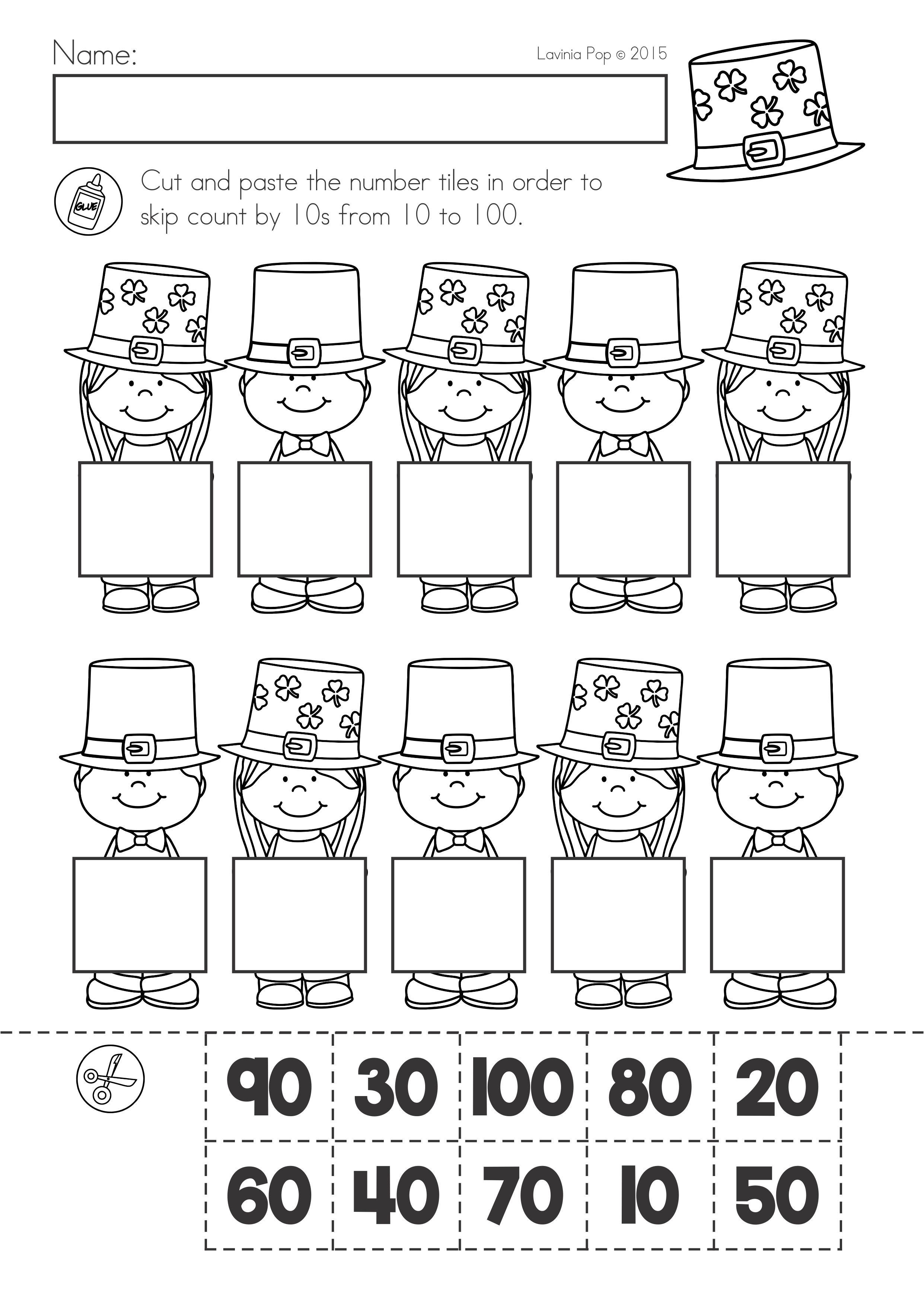St Patrick S Day Math Literacy Worksheets Activities No Prep Literacy Worksheets Math Literacy Printable Flash Cards [ 3508 x 2482 Pixel ]