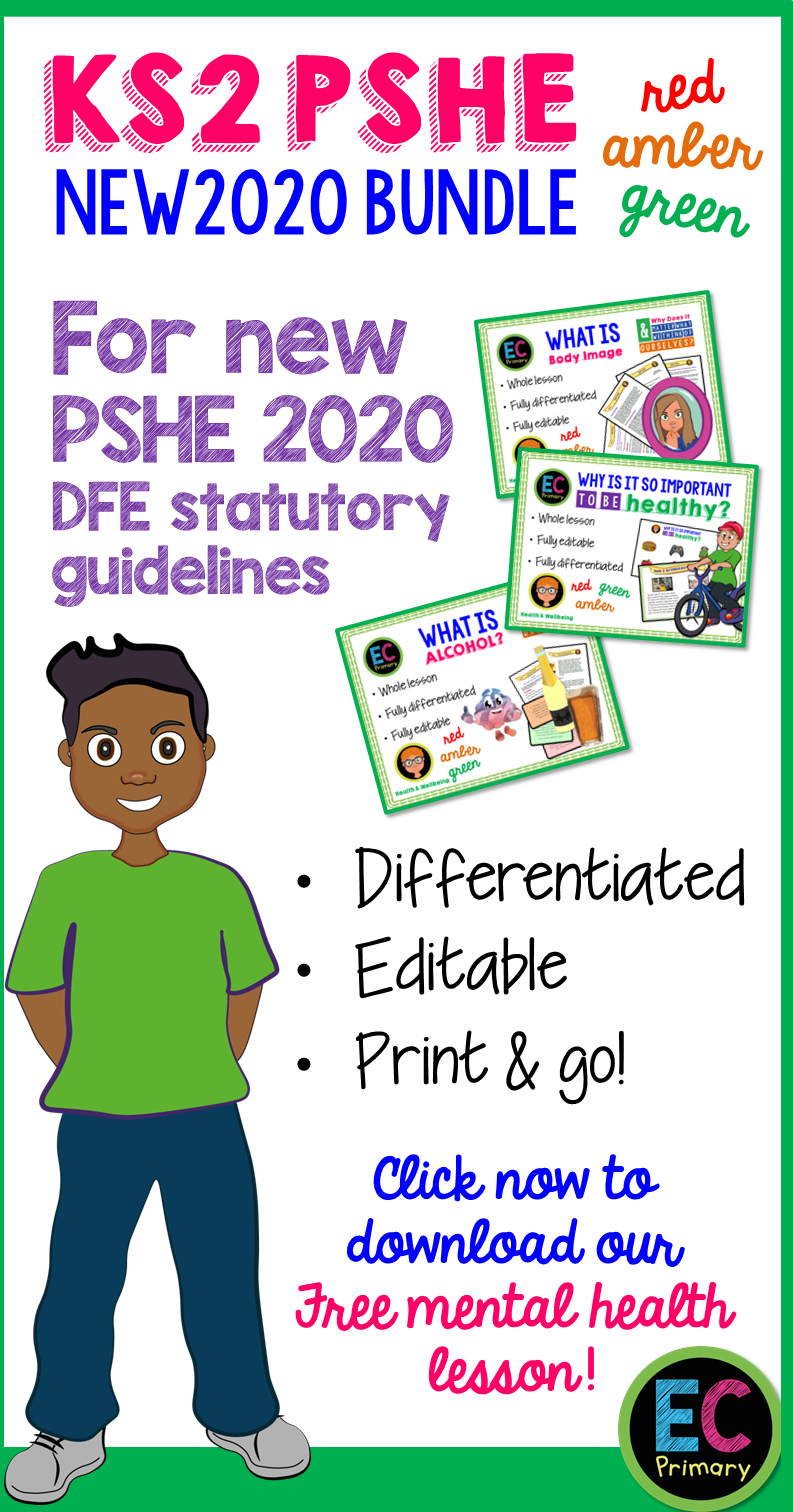Pin on EC Primary PSHE Resources