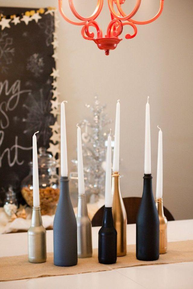 d co table de no l 5 diy d co et faciles fabriquer noel xmas and decoration. Black Bedroom Furniture Sets. Home Design Ideas
