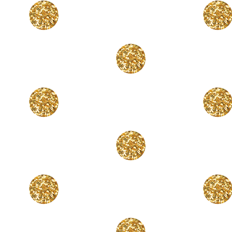 Polka Dot In Gold Glitter Fabric By Willowlanetextiles On Spoonflower Custom Fabric Shop Wallpaper Glitter Fabric Gold Glitter