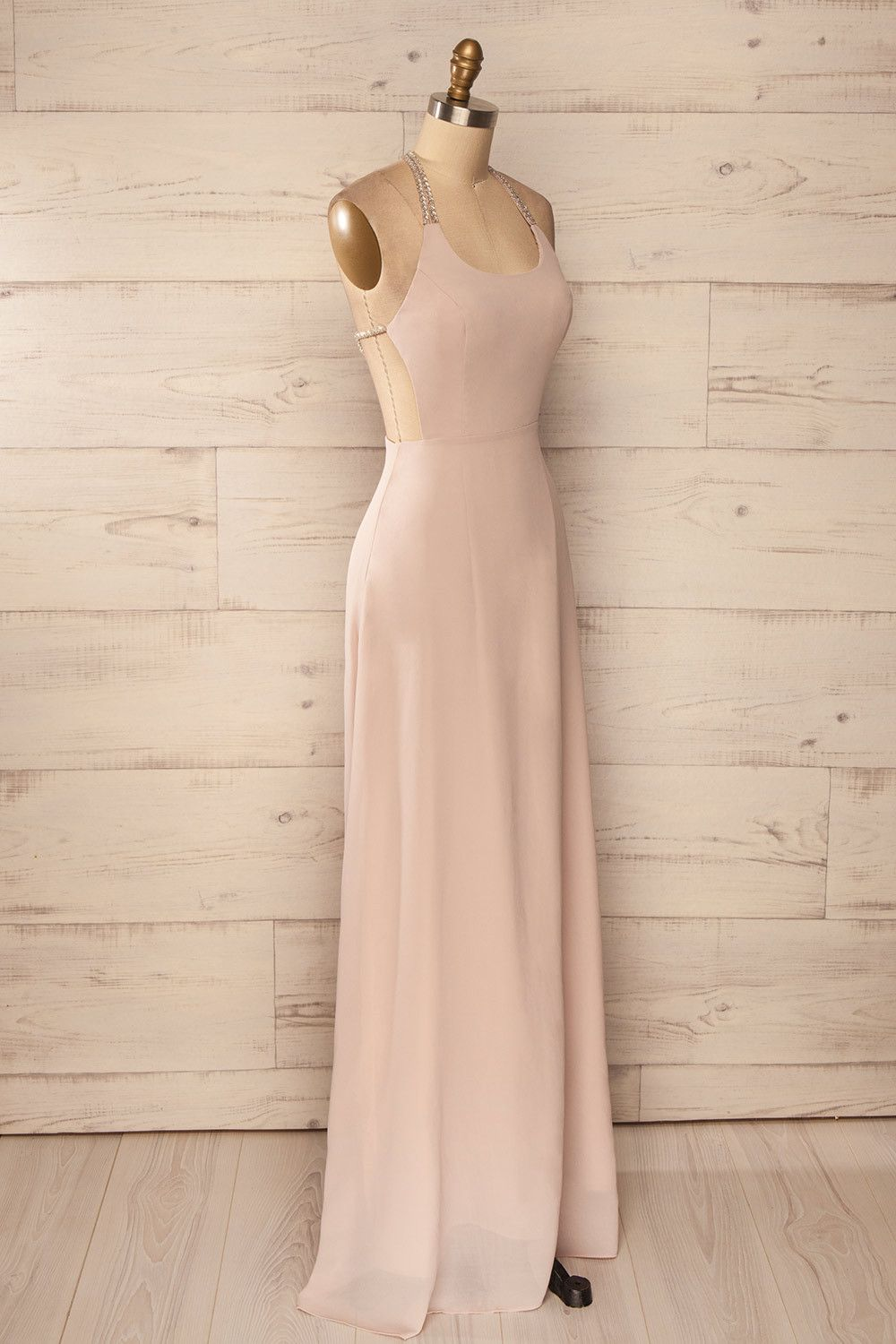 Juxue taupe prom taupe and maxi dresses