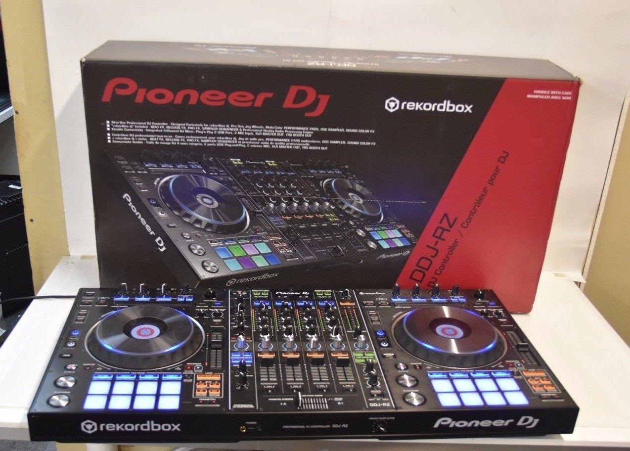 Pioneer Rekordbox Pro DJ DDJ-RZ 4 Channel DJ Controller in