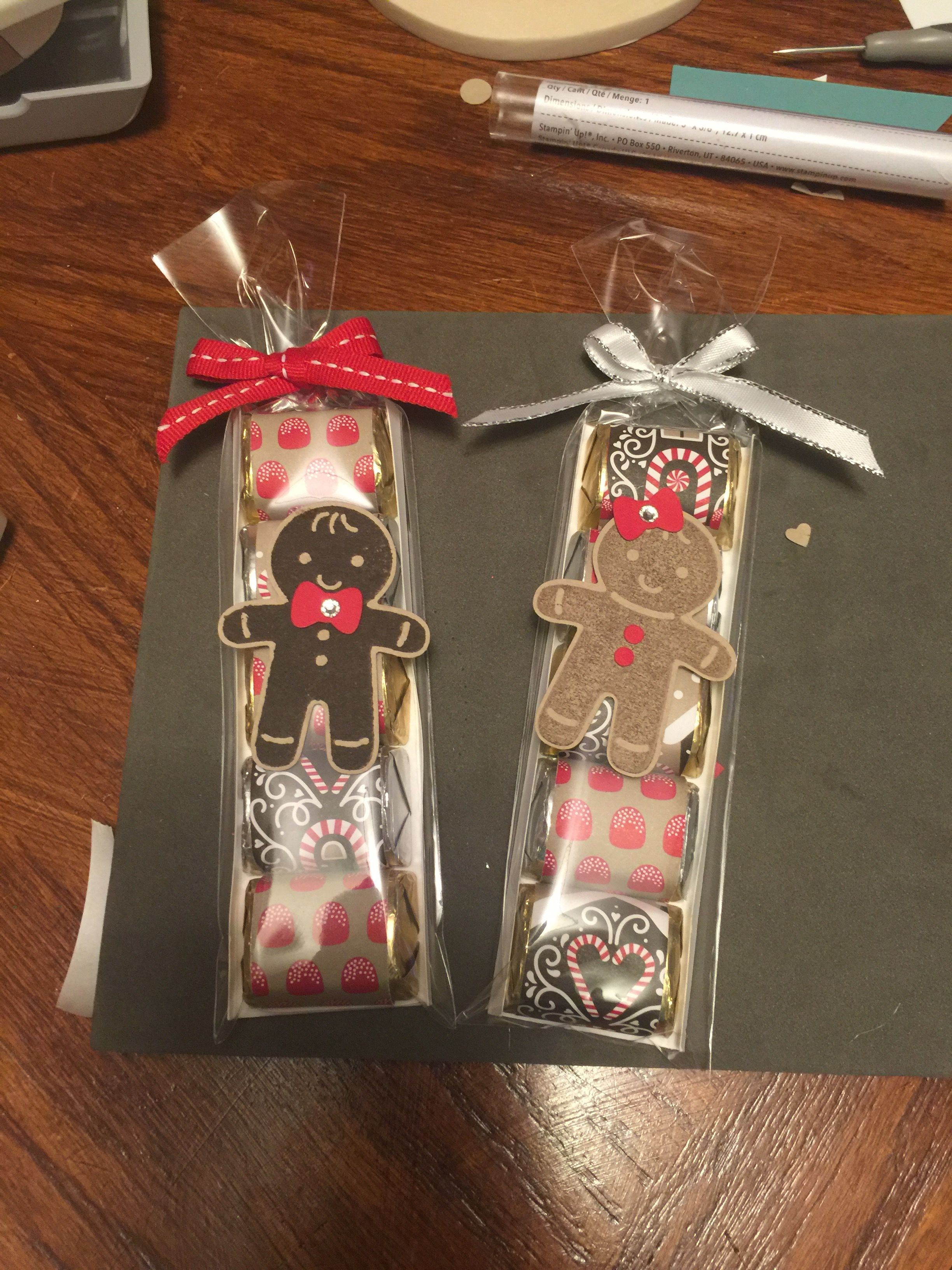 Christmas In Hershey 2019 Hershey Nuggets, $3.50 each These were made using Stampin' Up