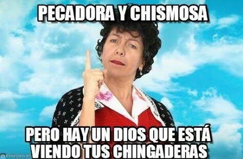Doña lucha #PecadorayChismosa
