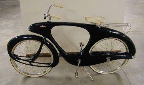 Space Age fiberglass bike 1960's