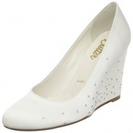 White Wedge Wedding Shoes Buyers Guide   Wedge wedding shoes ...
