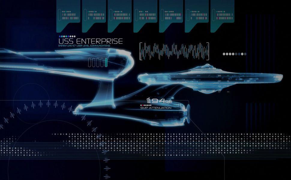 Star Trek Rainmeter Skin HD Wallpaper  Wallpapers