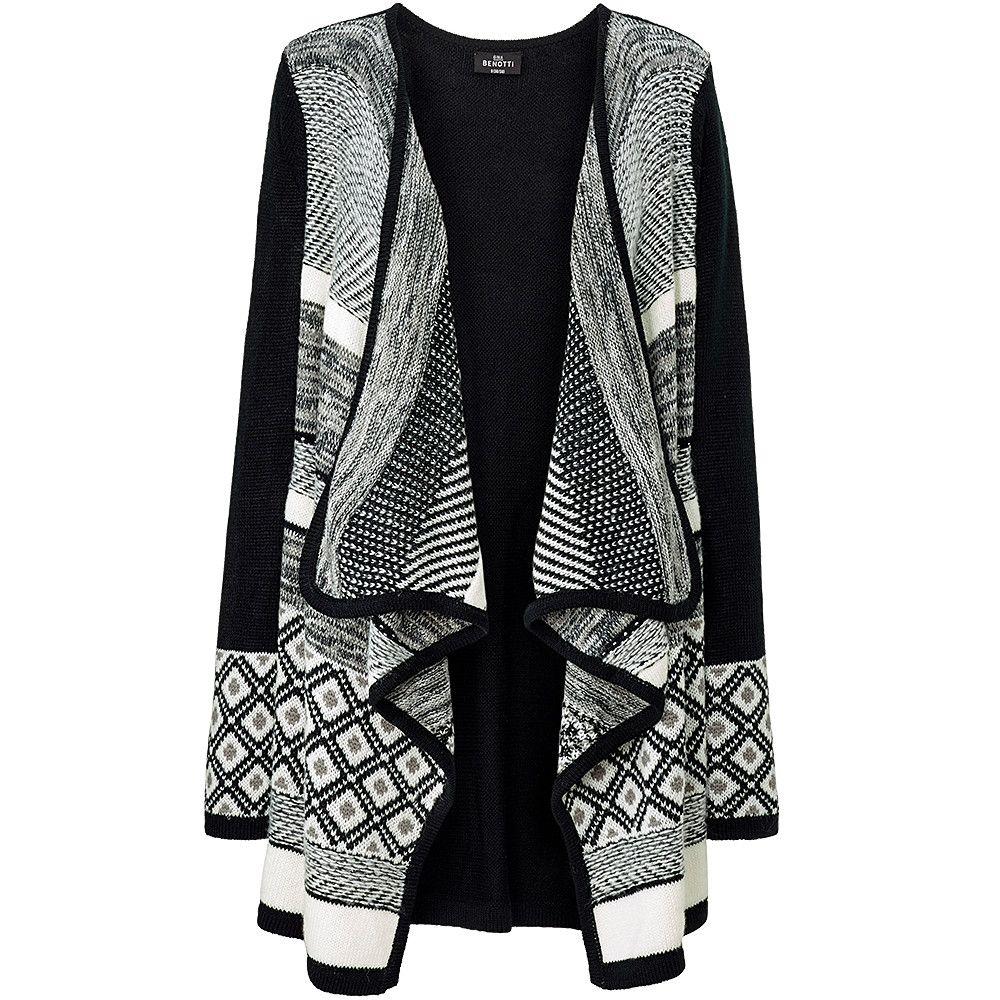 abd8c56911 Damen-Strickjacke von Gina Benotti für Damen bei Ernstings family online  bestellen | schwarze Strickjacke