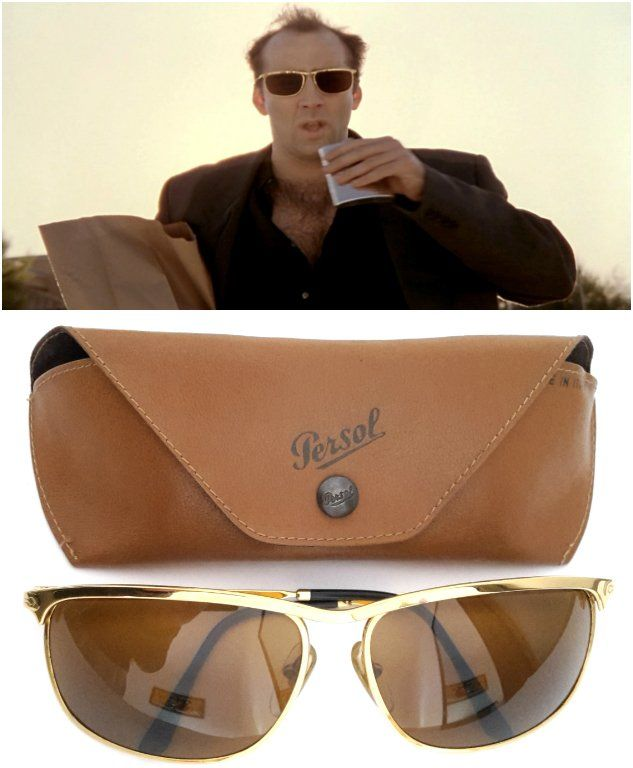 a5808eed86b6d Vintage Persol Ratti Key West sunglasses. Worn by Ben Sanderson aka Nicolas  cage in the 1995 movie Leaving Las Vegas