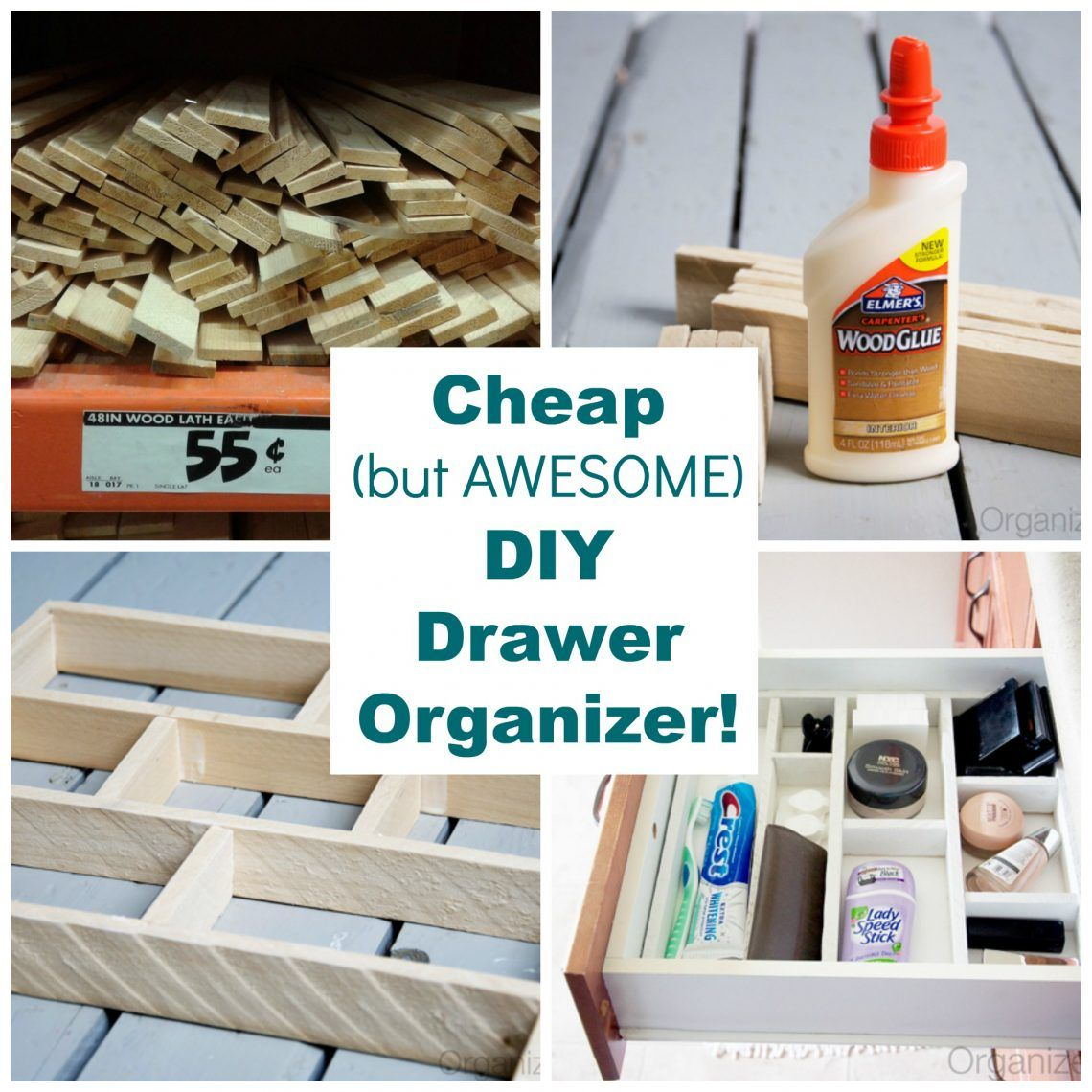 Organisateur Placard Cuisine: Easy And Affordable- DIY DRAWER ORGANIZER