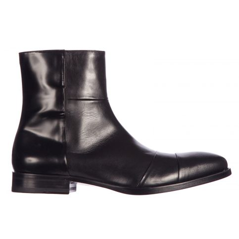 Mens Ankle Boots with Zipper