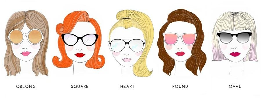 Sunnies To Suit Your Face Shape Stylecracker Perfect Sunglasses Face Shapes Square Face Shape
