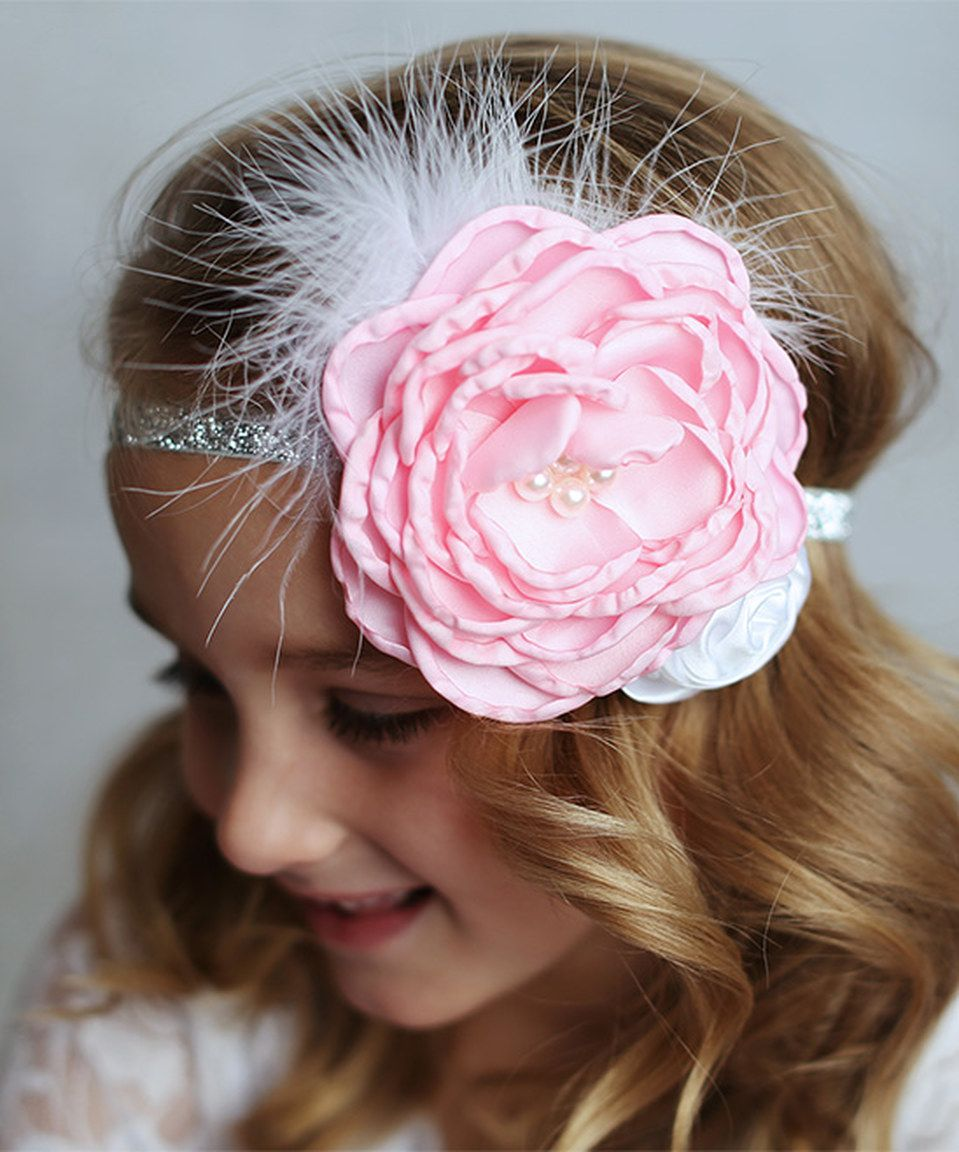 Pink Sparkle Headband by Lollies and Lace Boutique  zulily  zulilyfinds 490e635f9ba