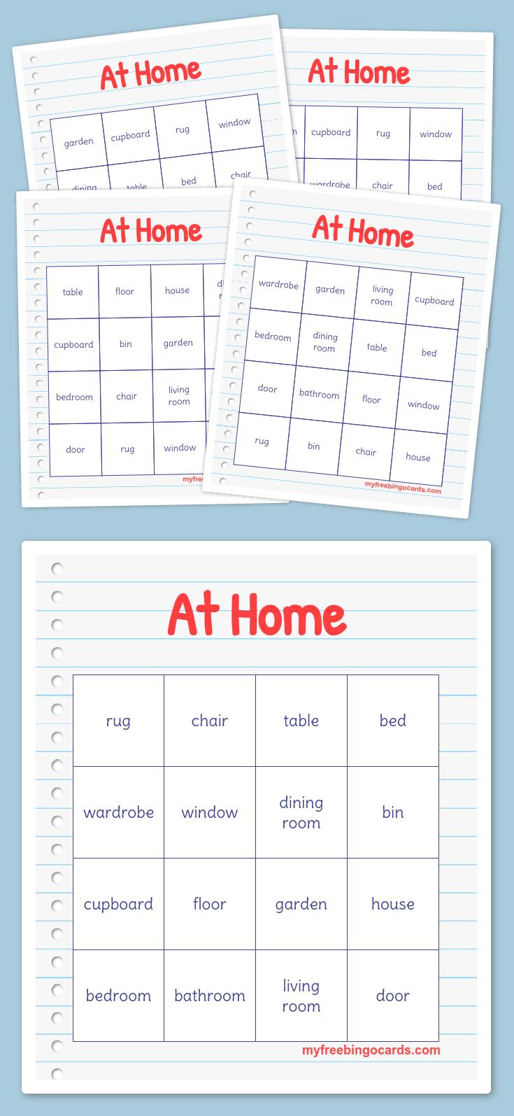 Free Printable Bingo Cards (With images) Free printable