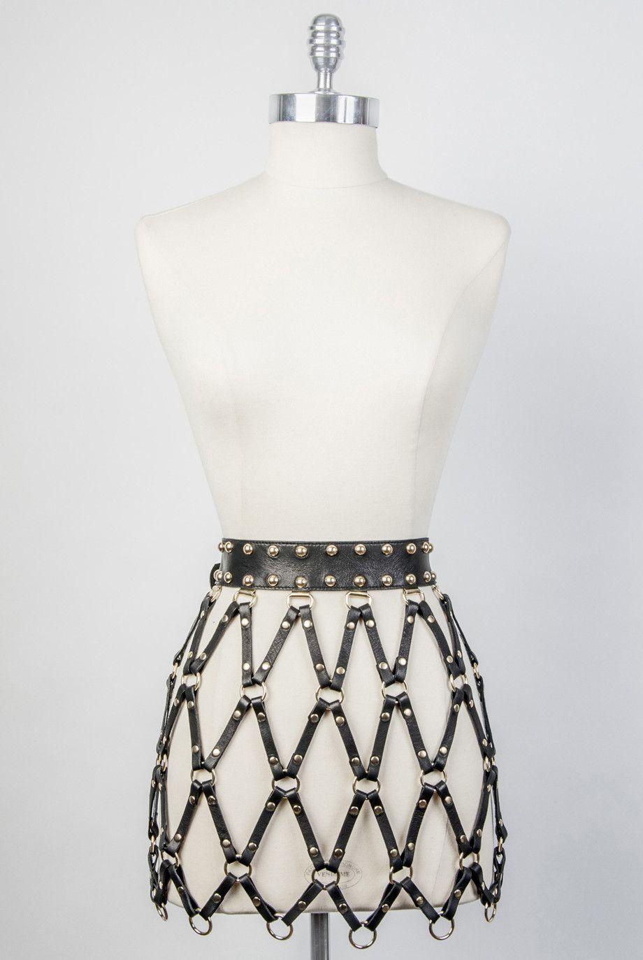 485b432dac FW15 Diamante Belted Skirt – Zana Bayne