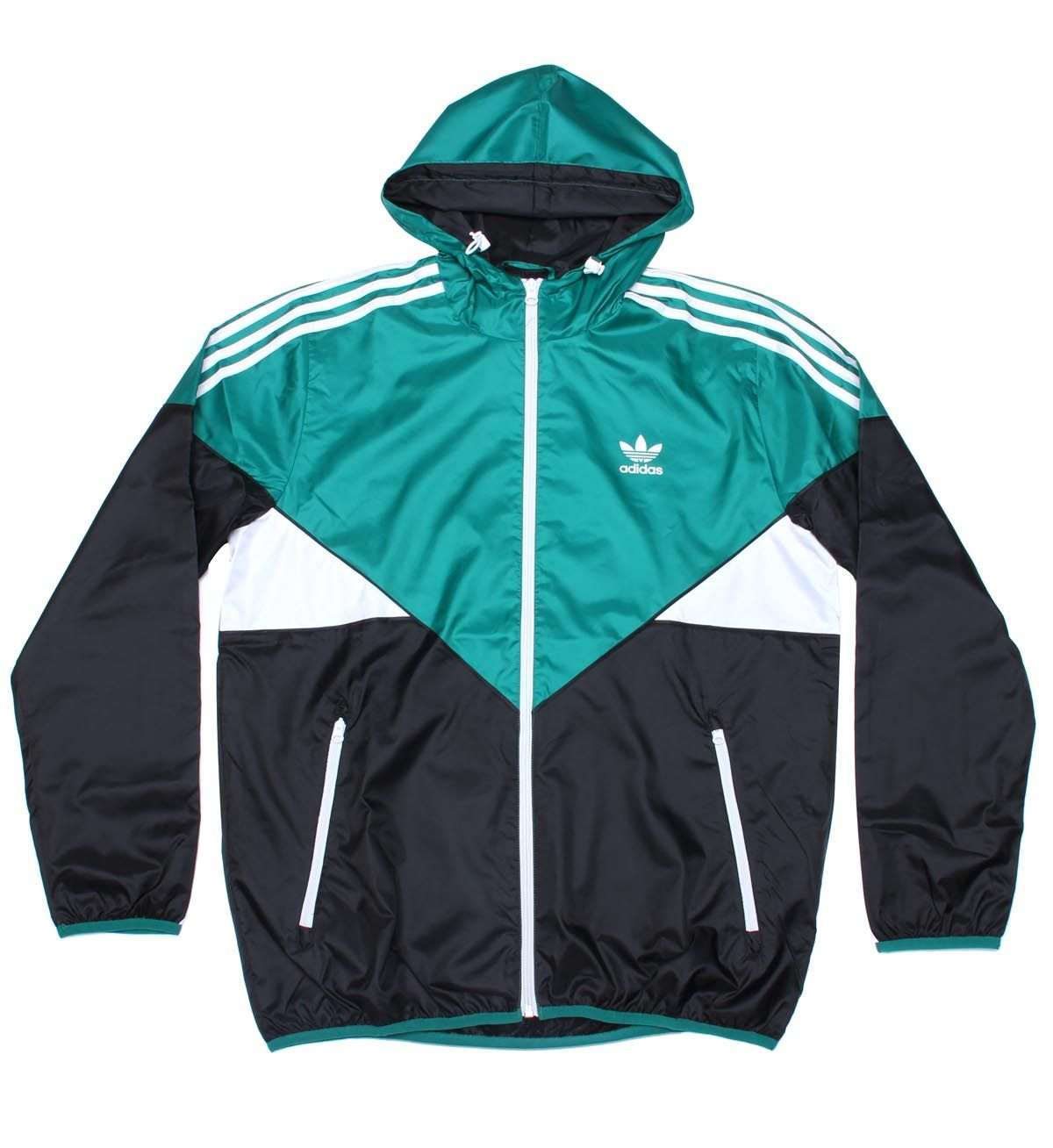 Adidas Originals Colorado Windbreaker Jacket Sub Green / Black ...