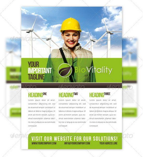 Professional Flyer Design Templates For Multi Purpose Business