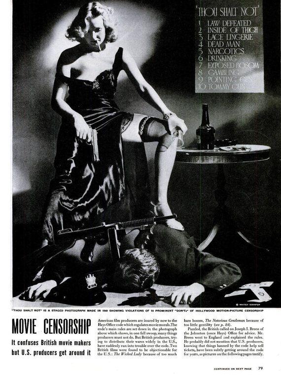 349f564eb 1946 Femme Fatale Film Noir Old Hollywood Movie Censorship Pre-Code ...