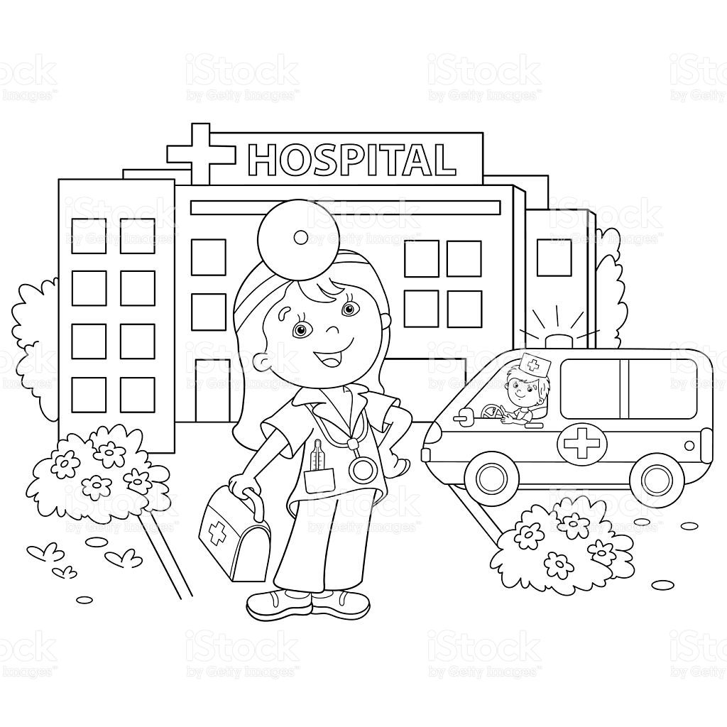 Resultado De Imagen Para Imagen De Hospital Animado Para Colorear Imagenes De Hospitales Animados Hospital Hospitales