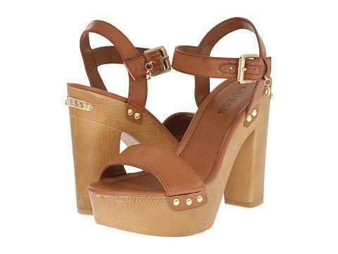 Womens Shoes GUESS Zanie Tan