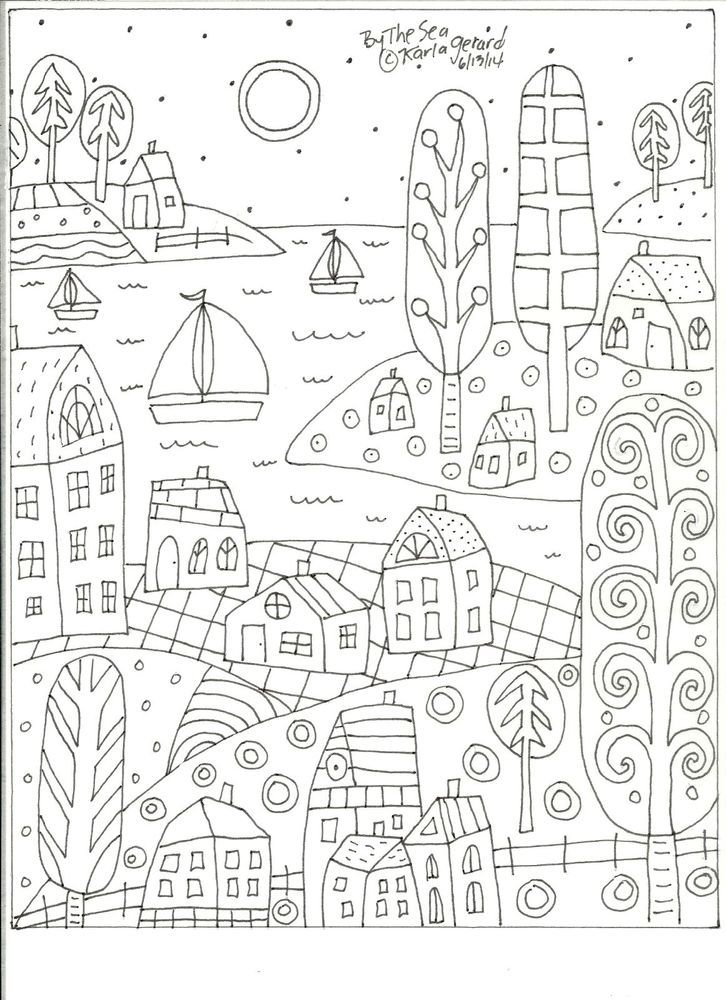 coloring pages crafts - photo#24