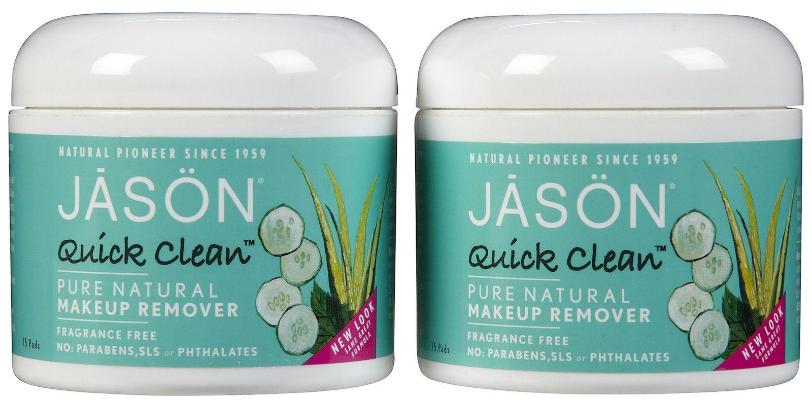 Jason Quick Clean Makeup Remover Pads crueltyfree