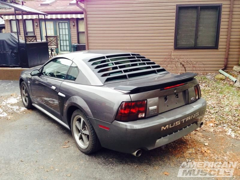 MMD Rear Window Louvers - ABS (94-04 Coupe) | Mustang, Window and ...