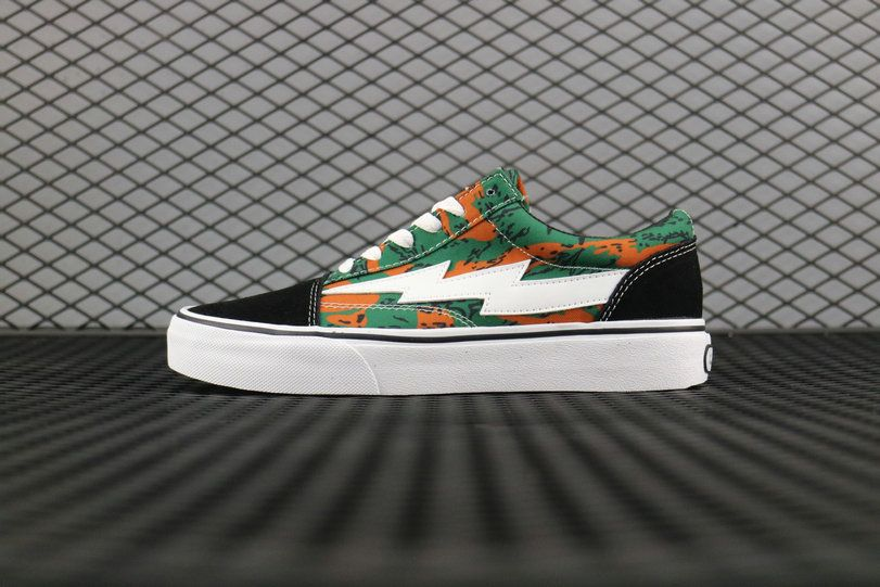 3955b9e2aad4f0 Retailmenot Coupon Revenge x Storm Pop-UP Store Vol.1 Camo Orange Black  671lWMP002 Skate Shoe Vans For  Vans