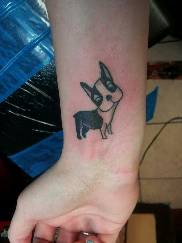 d739ee917 Boston Terrier Tattoo, Boston Terrier Art, Boston Terrior, French Bulldog  Tattoo, Dog
