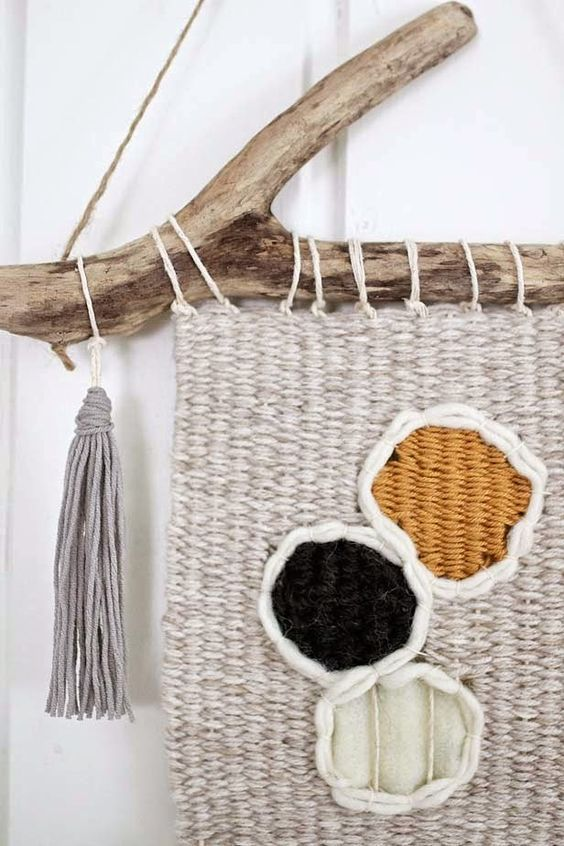 Weaving wall hangings #weaving