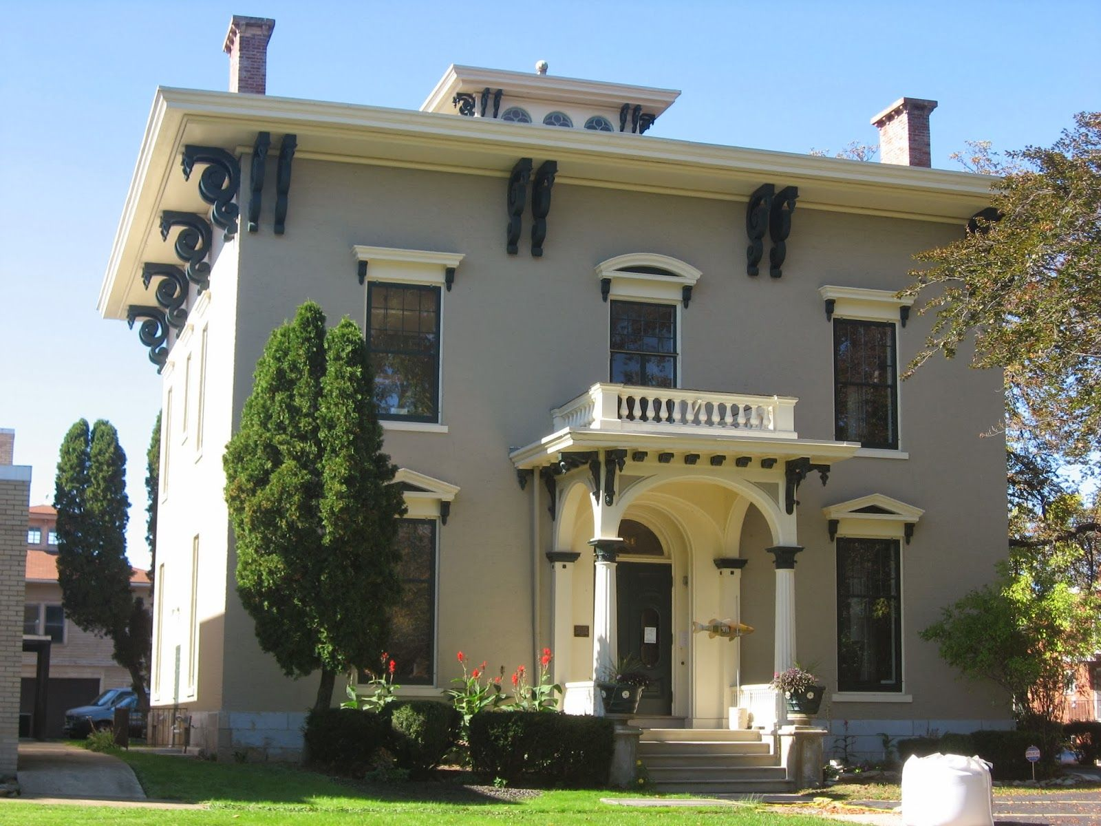 Italianate Style House Interior A Blog Devoted To American Italianate Architecture Of The