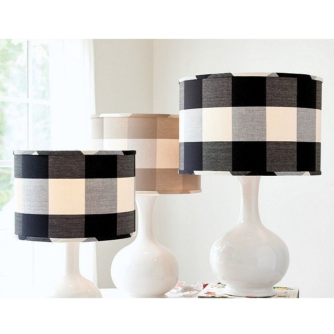 Buffalo check lamp shade ballard designs