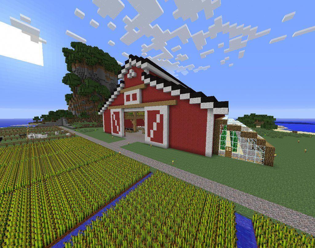 Survivalist farm house grabcraft your number one source for minecraft buildings blueprints tips ideas floorplans pinterest also rh