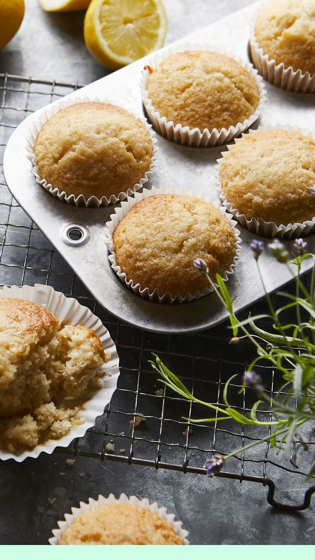 Lemon Muffins Recipe Recipe In 2020 Lemon Muffins Delish Cakes Easy Cake Recipes
