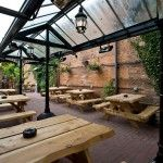 The Swan, located on the high street of Cheltenham, has a Conservatory and a tucked away beer garden perfect for those after work drinks in the summer