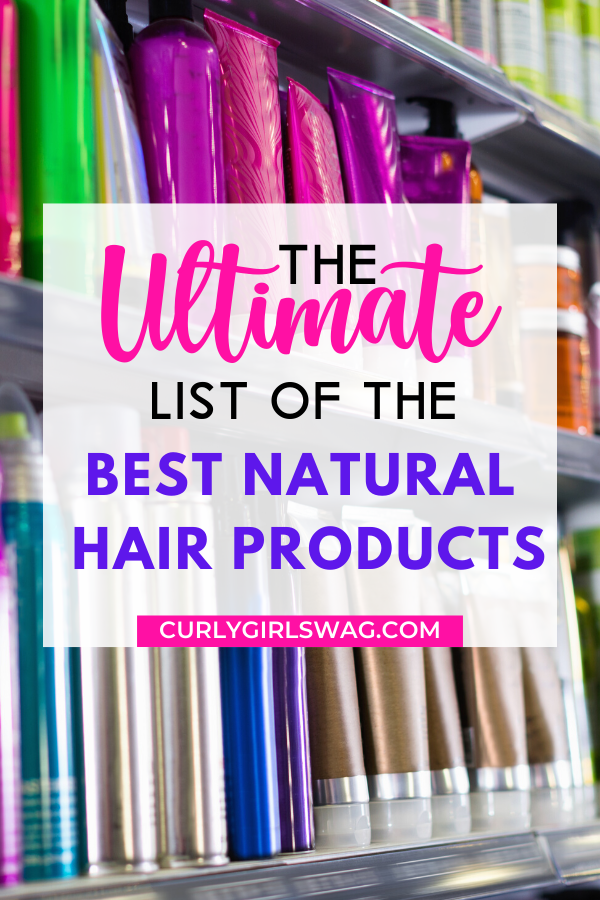 BEST Natural Hair Products 2020 | Curly Girl Swag