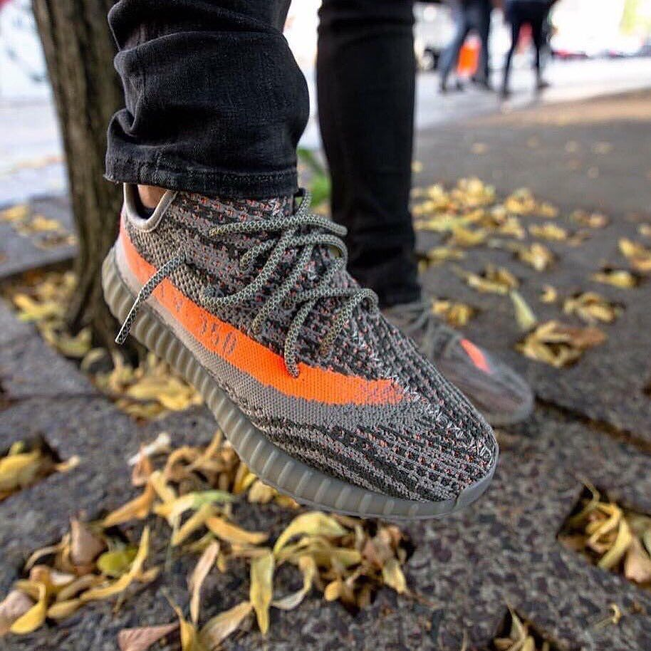 3ec1c43ee38 Adidas Yeezy Boost 350 V2 STEGRY BELUGA SOLRED BB1826  JustWaitOnIt ...