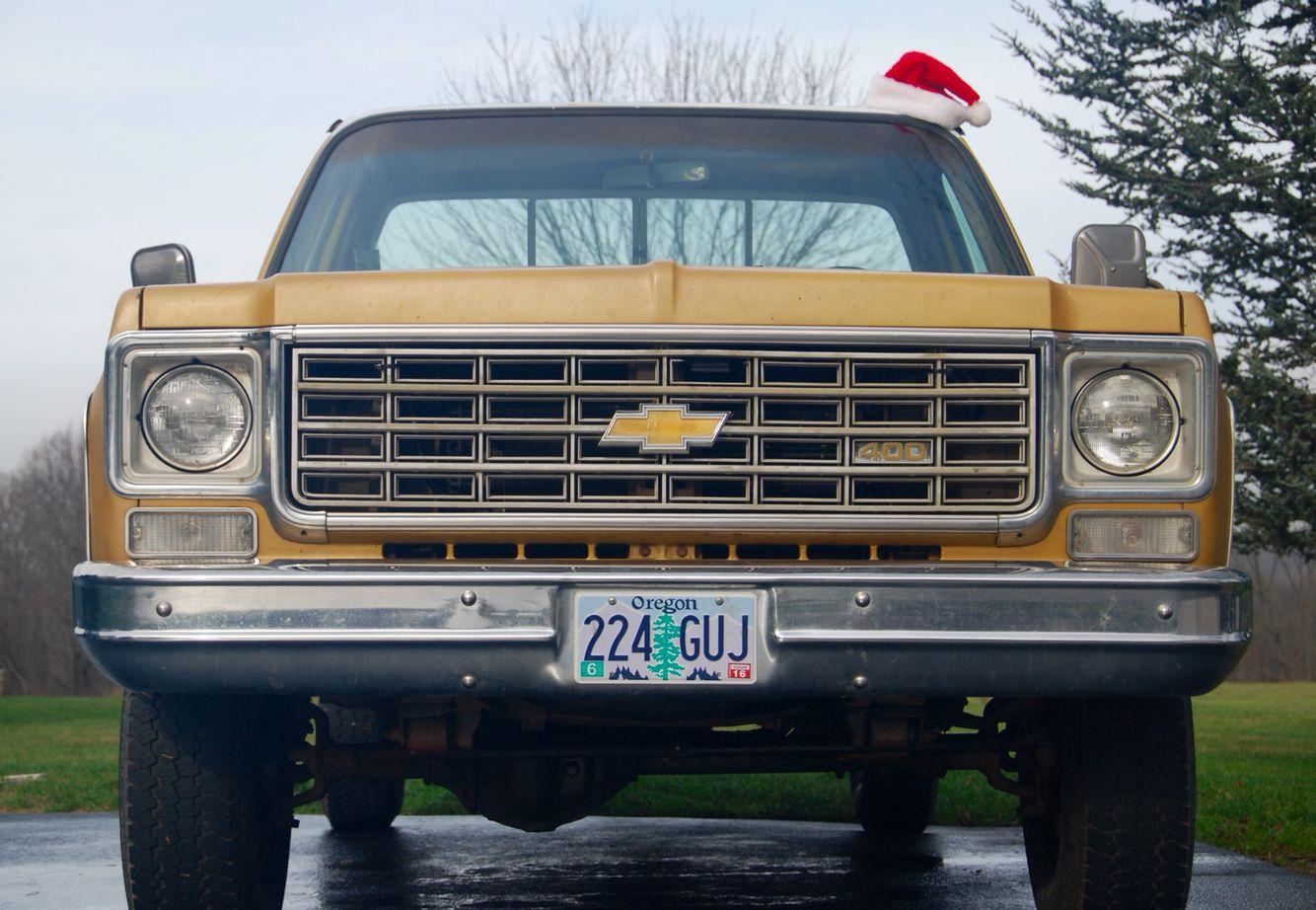 My 1976 Chevy Silverado K20 Camper Special Merry Christmas Chevy Chevy Trucks Chevy Silverado