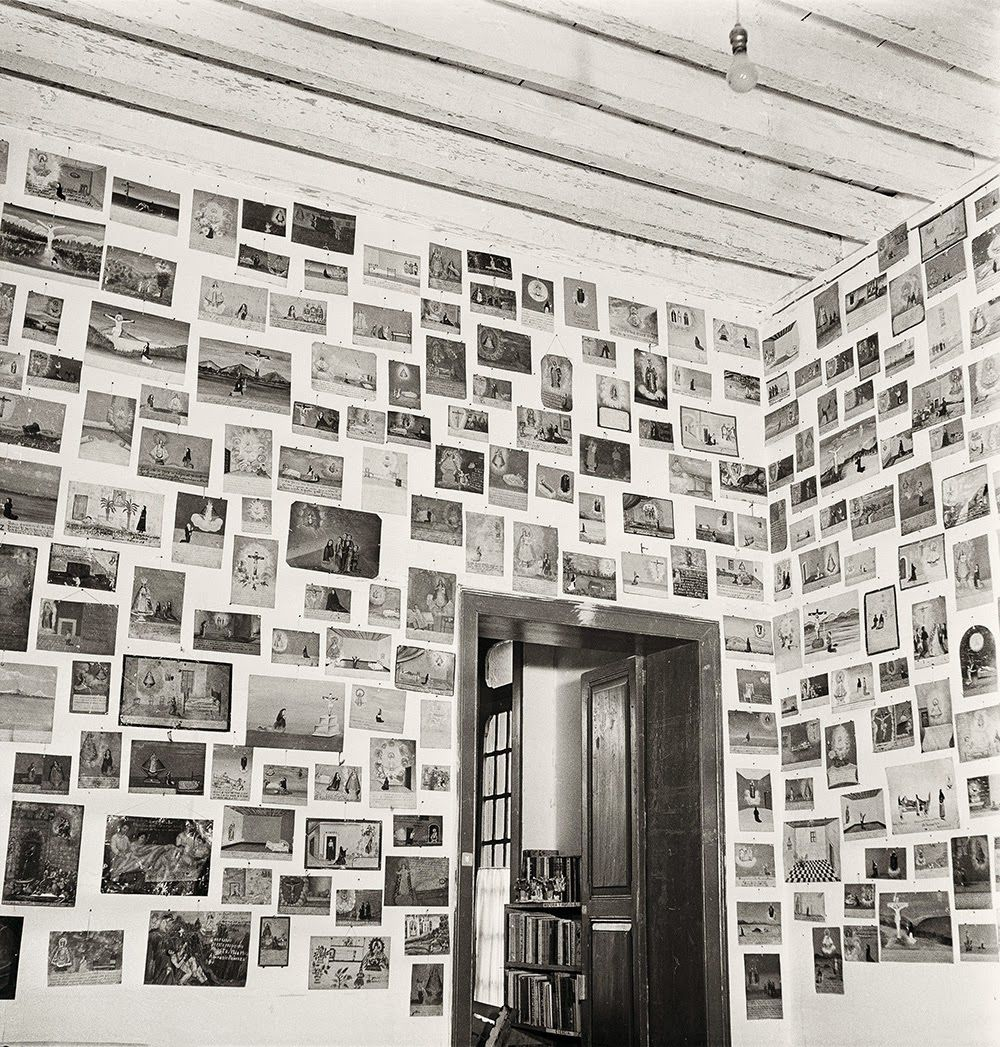 Loved these pics, particularly the ones of Frida's studio ~ M ... In 1950, photographer Gisèle Freund embarked on a two-week trip to Mexico, but she wouldn't leave until two years later. There she met the l...