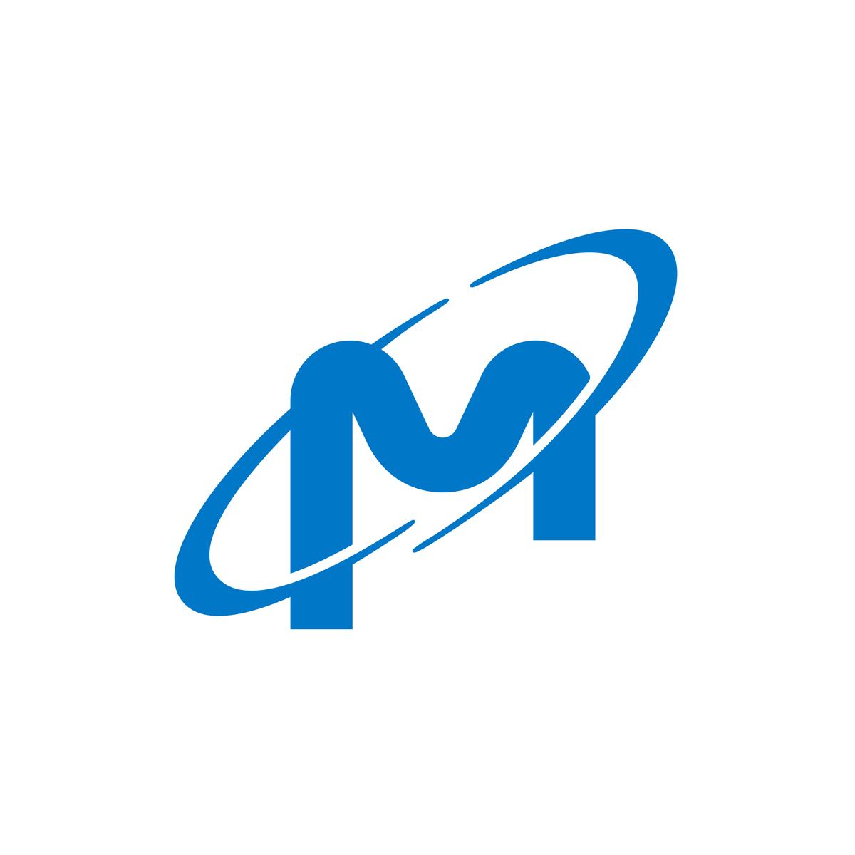 Micron Logo United States Letter M Logo Single Letter Logo Lettering