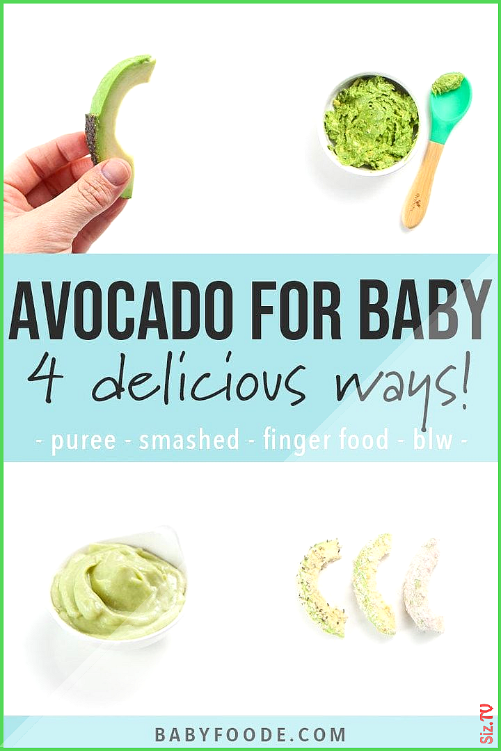 Avocado for Baby  4 Delicious Ways 4 months Baby Foode Avocado for Baby  4 Delicious Ways 4 months