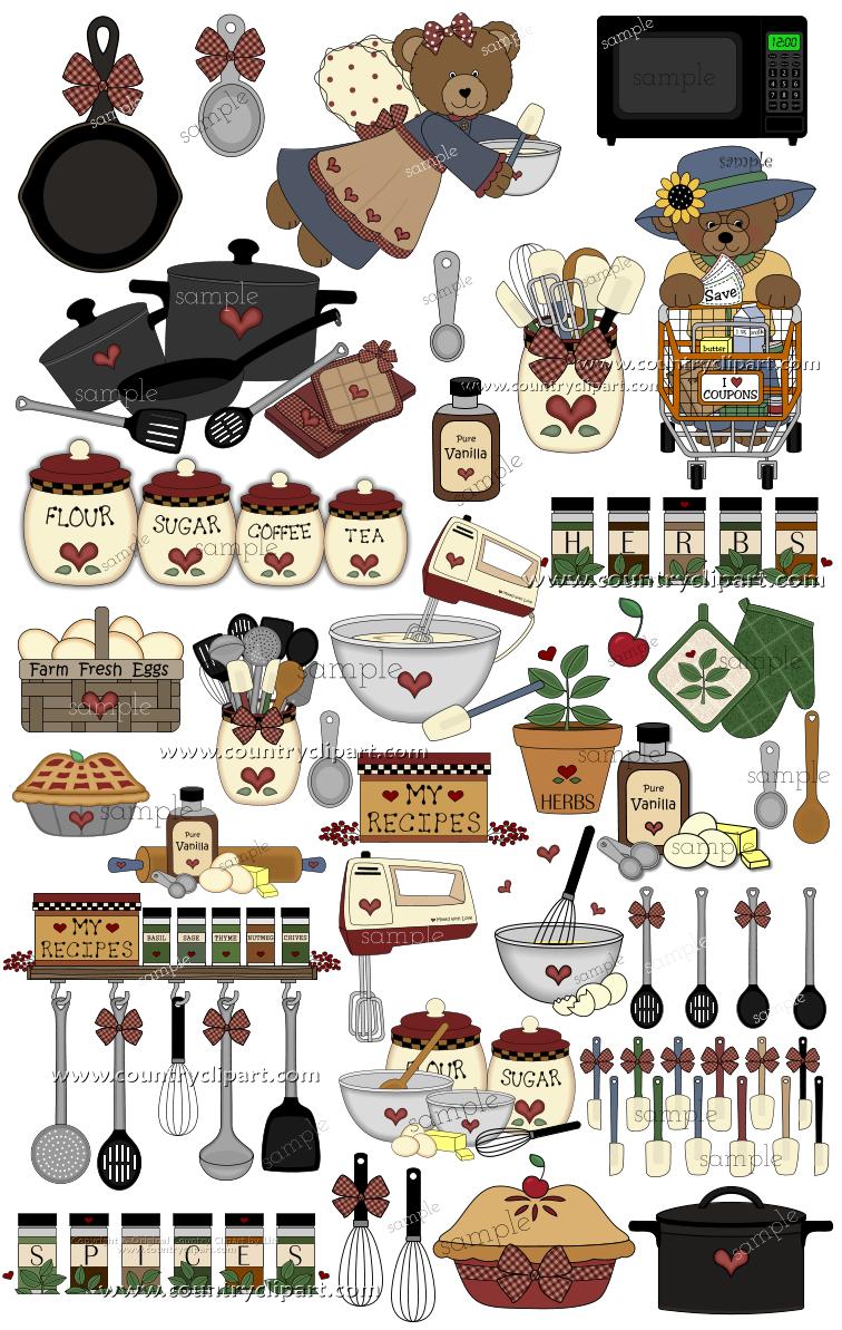 Kitchen Clip Art | More \