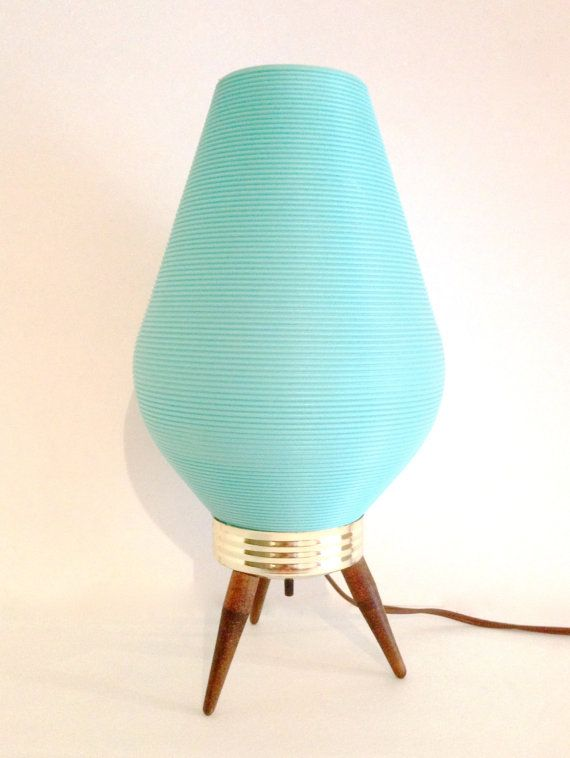 Fantastic Atomic Eames Era plastic Beehive lamp by RetrouverBiz