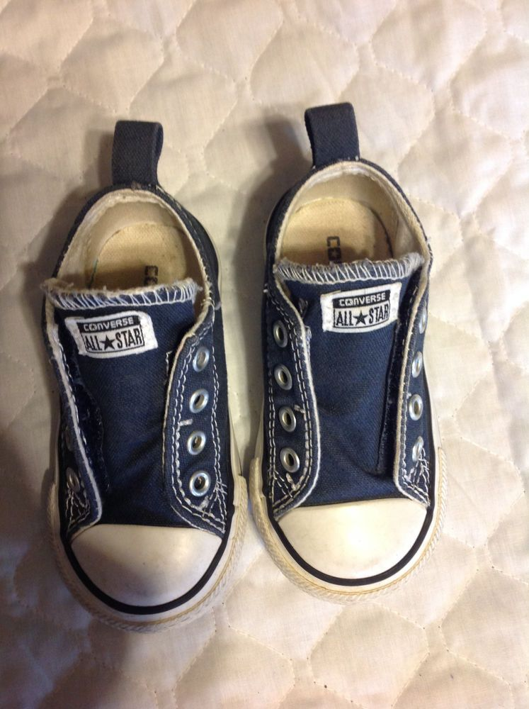 717db85749a8 Infant Converse All Star Dark Blue Size 6 Velcro Tennis Shoes  fashion   clothing  shoes  accessories  babytoddlerclothing  babyshoes  ad (ebay  link)